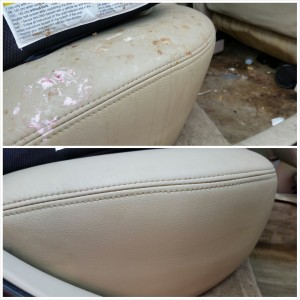 Toyota Avalon - Interior Detail (Before & After)